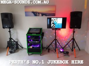 Perth's best karaoke jukebox machine hire.