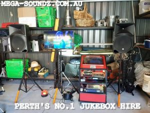 karaoke jukebox machine hire Perth-Mega-Soundz