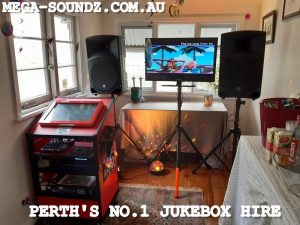 Five Jukebox / karaoke machines setup today around Perth.