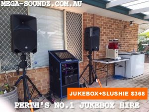Karaoke jukebox machine hire perth wa Fremantle