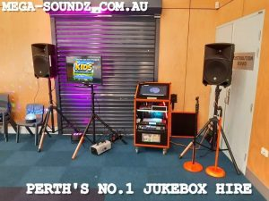 kids Touch Screen Jukebox Hire Perth