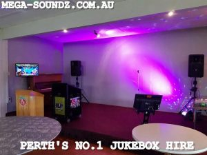 Corporate karaoke jukebox machine hire Perth