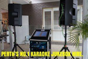 Perth's Best Karaoke Hire(NO LAPTOPS) Proper Jukeboxes Only.