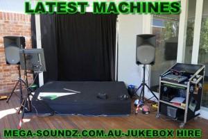 karaoke party machine hire perth