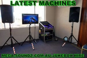 karaoke jukebox machine hire perth