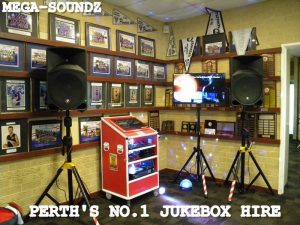 Karaoke Jukebox Hire Perth(NO LAPTOPS) Just Quality Machines.