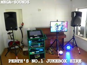 mega-soundz jukebox hire Perth