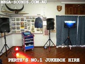 karaoke jukebox hire Perth-Mega-Soundz