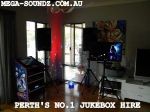 touch screen karaoke and music video jukebox hire Perth