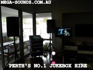 Party jukebox hire Perth with karaoke