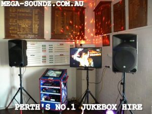 Hire The Latest in touch screen karaoke technology from Mega-Soundz Perth