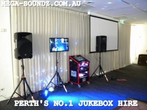 Perth's most popular karaoke jukebox hire-Mega-Soundz