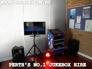 Party Karaoke jukebox hire Perth-Touch Screen machines
