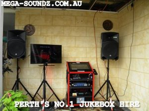 Jukebox Hire Perth-Touch Screen Karaoke-Middle Swan