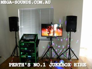 Party Touch screen karaoke jukebox hire machines Perth wa