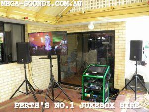 "Touch Screen Karaoke Hire Perth with 42"" tv"