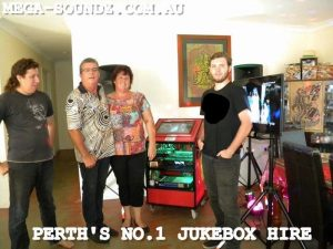 karaoke hire Perth jukebox rental