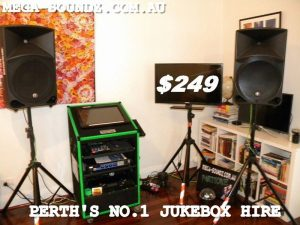 Touch Screen Karaoke Jukebox Machine Rental Perth