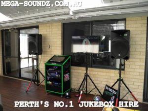 Best touch screen karaoke jukebox hire machines for rent around Perth