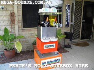 Twin slushie hire machine Perth