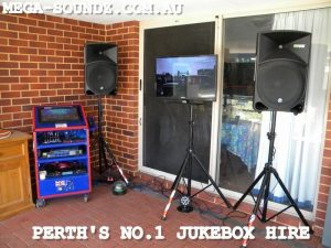 karaoke jukebox rental machine perth Joondalup