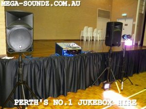karaoke machine and jukebox hire Perth