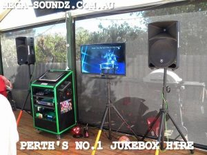 karaoke jukebox machine rental Perth