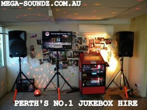 Perth Touch screen karaoke jukebox hire