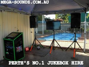 Twin Slushie and 3 Touch Screen Karaoke Jukebox Machines setup around Perth today