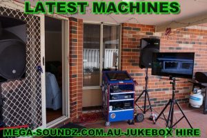 karaoke jukebox touch screen hire Perth