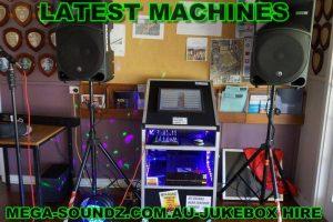 Great Karaoke Jukebox Hire From Mega-Soundz Perth.