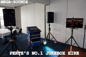 karaoke jukebox and touch screen jukebox hire Perth