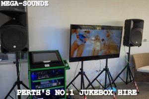 karaoke jukebox hire Perth touch screen