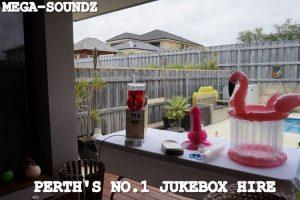 Touch Screen Karaoke Jukebox Hire Perth.