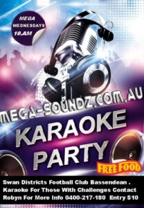 karaoke for those with disabilities Perth