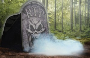 fog tombstone