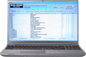 Computerized Karaoke Song Book