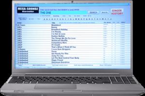 Computerized Karaoke Song Book