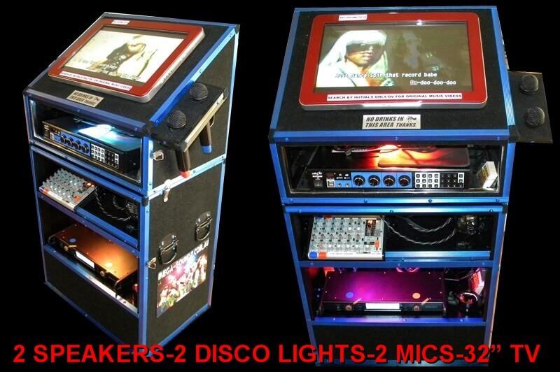 Chinese And English Karaoke KTV Jukebox Machine Hire Perth.