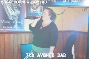 Karaoke Jukebox Stars At The 7th Ave Bar Saturday Night