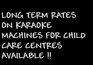 CHILD CARE PERTH KARAOKE HIRE